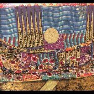 Kipling medium crossbody bag. Quilted print